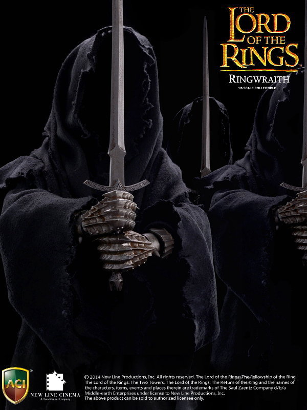 ACI TOYS - LORD OF THE RING - RINGWRAITH Am001.8